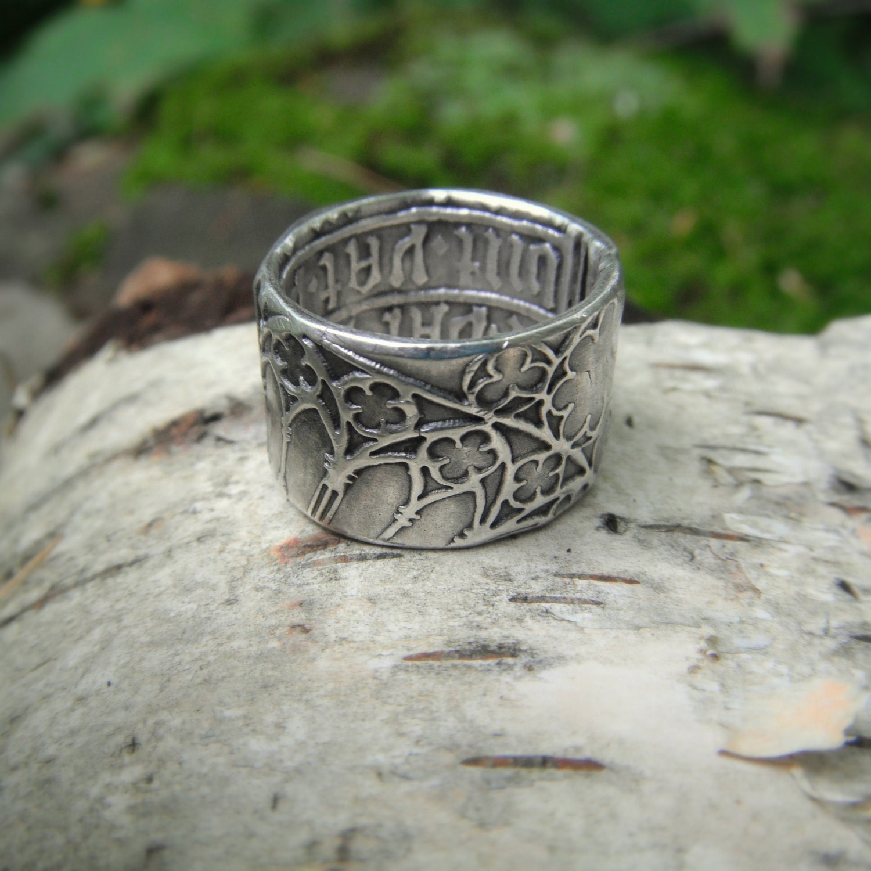 cathedral ring ring renaissance wedding band