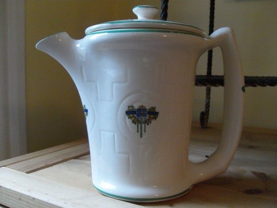 Art Deco Teapot - Paden City Pottery