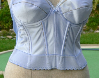 Hand Dyed and Painted Corset size 36B