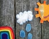 Handmade Montessori Toy. How to Make A Rainbow. Made to Order.