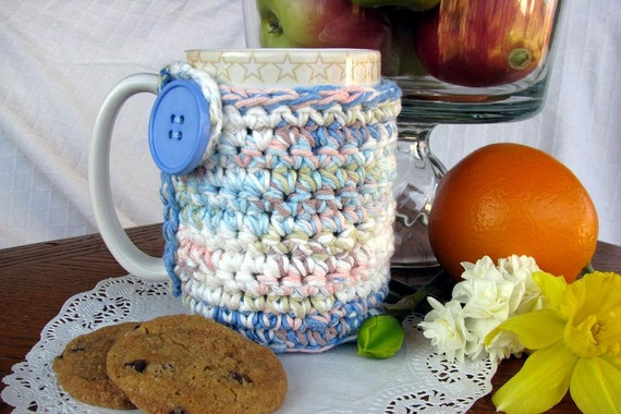 OOAK Cozy for your mug or cup --Coffee - Tea - Cocoa