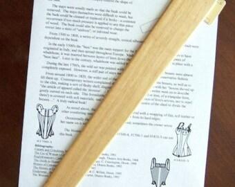 Hardwood Busk for Regency Corset / Stays - #1700-8