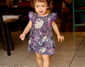 Purple toddler dress, kids clothes 12 -18 months size 18M