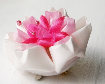 Cherry Blossom Hair Flower - Bridesmaids Hair Flower - Cherry Blossom Wedding Hair Flower - Wedding Hair Accessory - Bridesmaids Gift