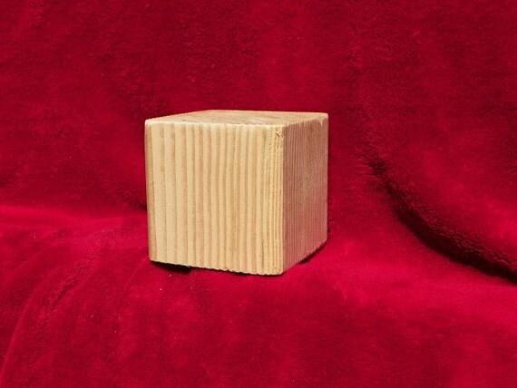 Big Wood Blocks ~ Large unfinished wood blocks