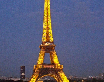 """Eiffel Tower, Paris, France - """"Twinkling Tower - Fine Art, Travel Photography, Various sizes / matted available"""