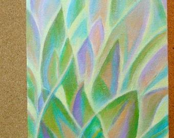 Southwest Agave Valley original acrylic painting