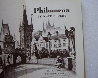 1955 Philomena by Kate Seredy illustrated book