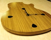 Handcrafted Gibson Les Paul Electric Guitar Wall Clock