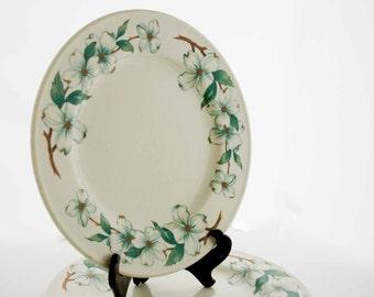 "Mayer Restaurant Dinnerware ""Monticello"" Pattern- Set of two (2) Dinner Plates"