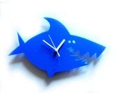 Martin the blue Shark  acrylic clock (the very last one)