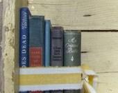Home Decor- Stack o'Vintage Books  BLUE