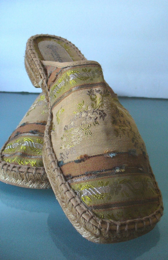 Vintage Andre Assous Made in France Espadrilles Size 40