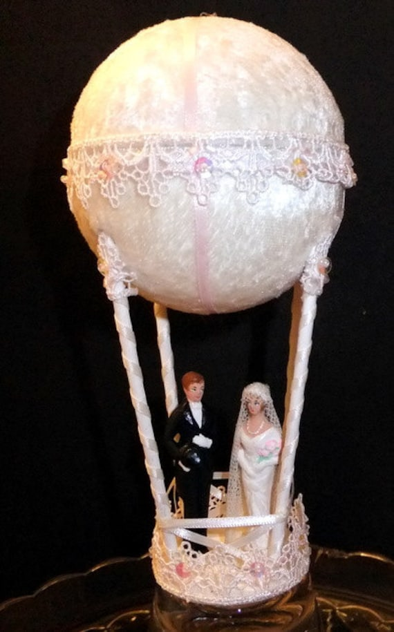 Wedding Balloon Custom Cake Topper Miniature Candy Container