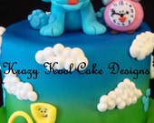 Blue's Clues Cake Topper Set