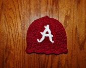 Crochet Pattern PDF - Beanie / Hat - Ribs and Ruffles Beanie - Newborn to Adult Sizes
