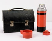 Vintage Lunch Box - Thermos Combo