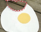 Sunnyside Up - Baby bib by Stitch