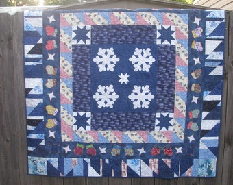 Snowflakes and Mittens Quilt