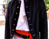 Mens Pirate -  18th Century Short Coat