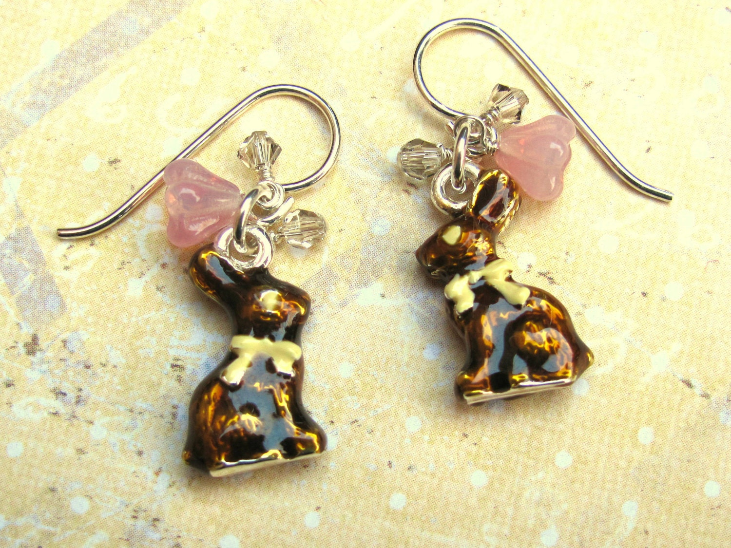 bunny earrings easter bunny earrings bunny earrings easter earrings 6781