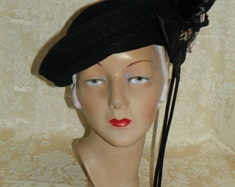 1930-1940's Women's Merrimac Hat