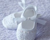 "AK DESIGNS ""Elegant Baby Shoes"" - Little Adeline."