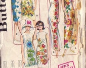 1960s Vintage Butterick Dress Sewing Pattern-Bust 36