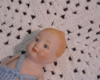 Vintage Porcelain Baby Doll - Reduced Price