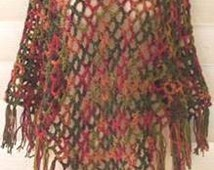 The 3 Hour 3 Dollar Crochet Poncho Pattern