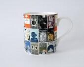Virginia Woolf Book Covers Mug