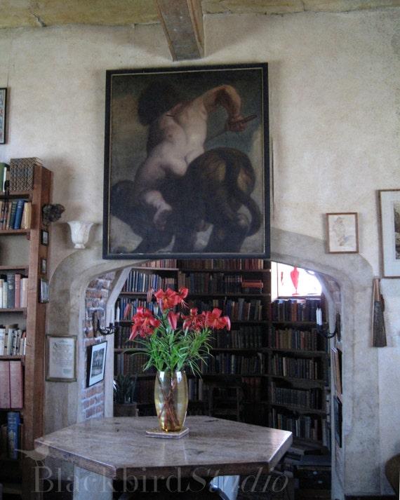 Vita Sackville-West / Virginia Woolf Sissinghurst Tower Room Fine Art Photograph 7x5 inches