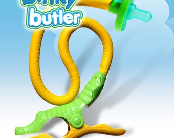 Binky Butler Soothie brand pacifier holder - SPECIAL 2 for 1 OFFER this month only!