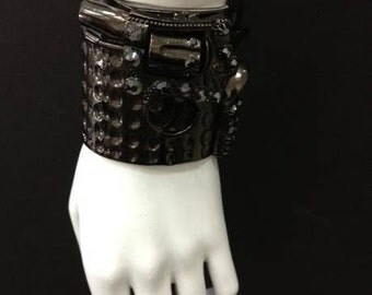 He's a Pistol -  Hematite Cuff as seen at Nicola Formichetti's Pop Up Shop