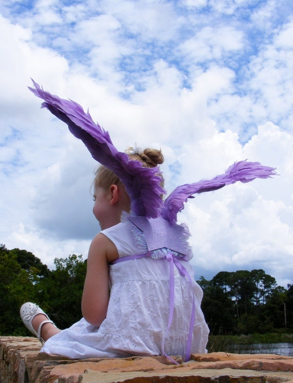 Costume Wings - Violet - 5T-6T