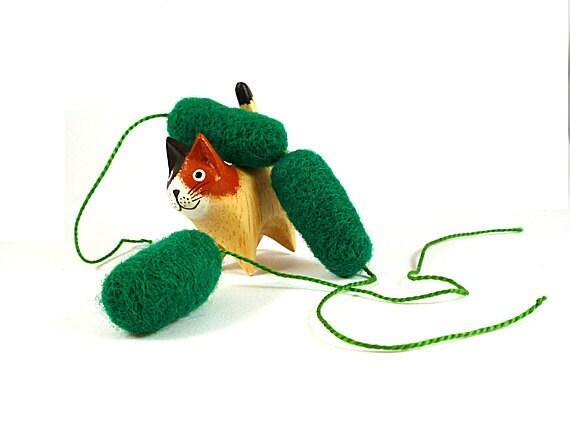 Xanthomonas Bacteria Wool Catnip Cat Toy
