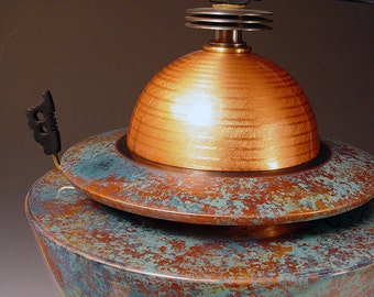 Urn 1. A contemporary vessel for the trip of a lifetime. Outrageously beautiful art from the lathe.