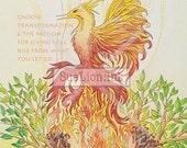 Phoenix Alchemy - A7 Card - Magic & Myth