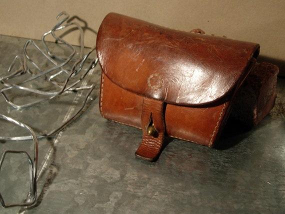 Vintage Leather Belt Vintage Leather Belt Pouch
