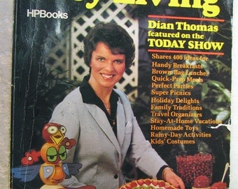 Dian Thomas Easy Living Book Crafts 1982