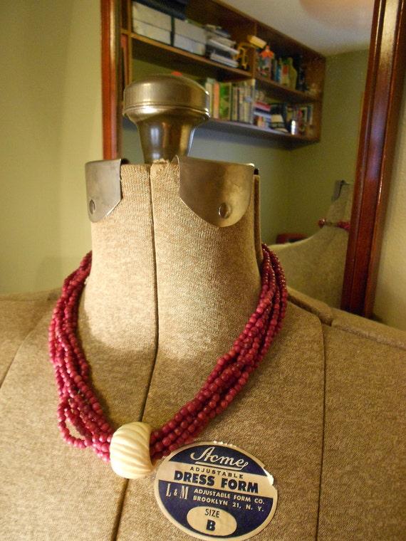 Beautiful Bulky Necklace-SALE 30% Off -Use Code SALE30