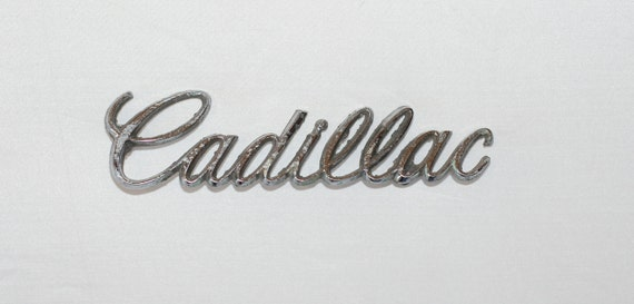 Vintage Cadillac Car Emblem....Jewelry Making...Mixed Media...Art..