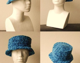 Sun Hat Crochet Pattern, Summer Hat Crochet Pattern, Fisherman's Hat Crochet Pattern