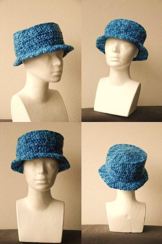 Sun Hat Crochet Pattern, Summer Hat Crochet Pattern, Fisherman's Hat Crochet Pattern
