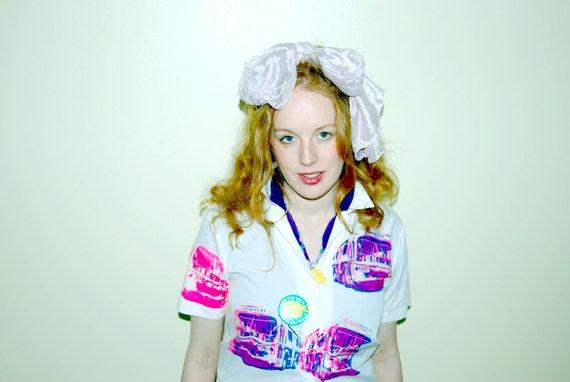 Bus to Nowhere- Sex Pistols - Punk Shirt - Screen Printed -  Blouse - Womens - Medium 36 Chest