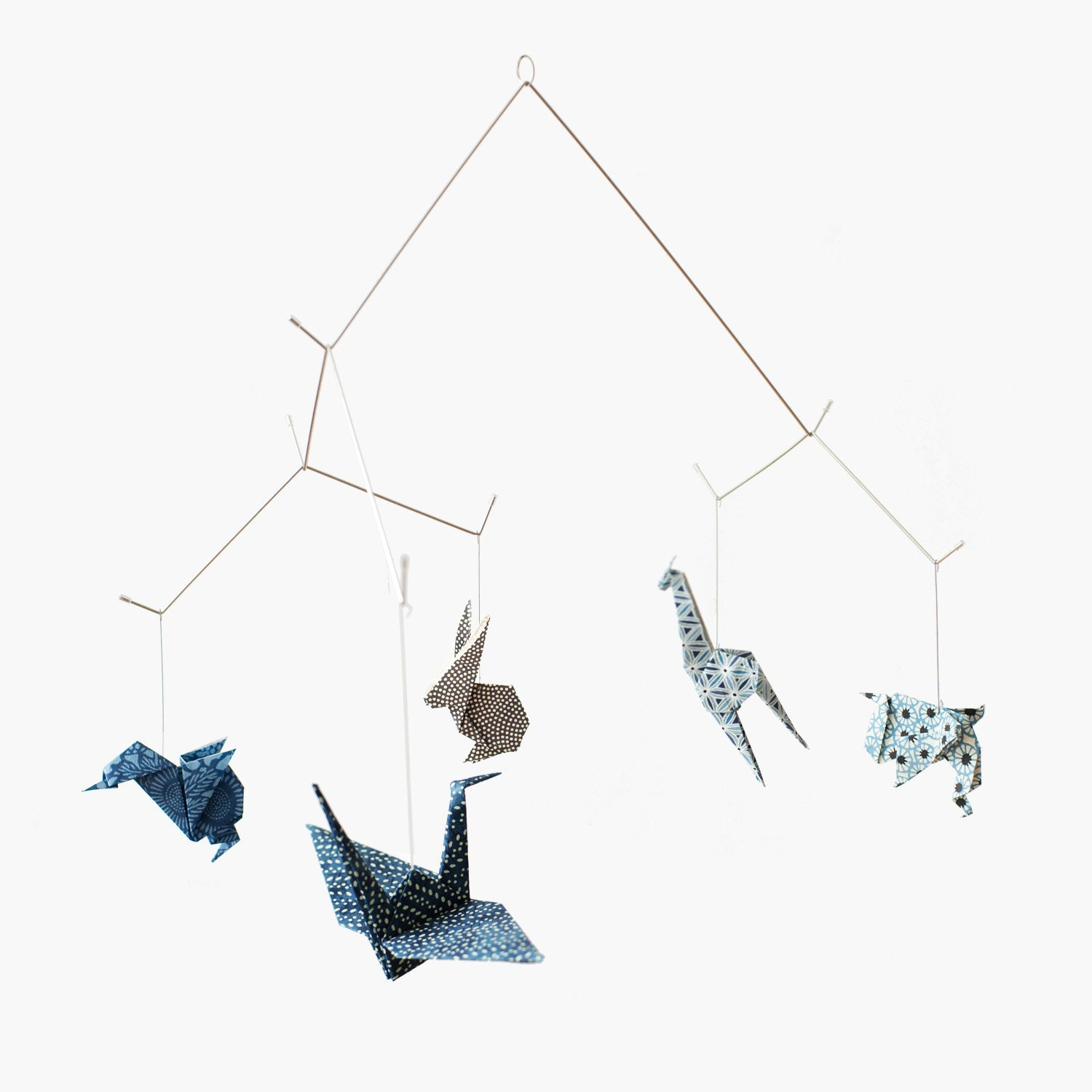 Baby mobile / ZOO ORIGAMI MOBILE: Chiyogami collection by ... - photo#39