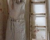 Handmade Linen Apron Timeless And Elegant Design