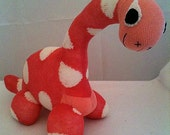 Sock Dinosaur, Sockosaurus, Sock Animal, Sock Sculpture, Custom Order