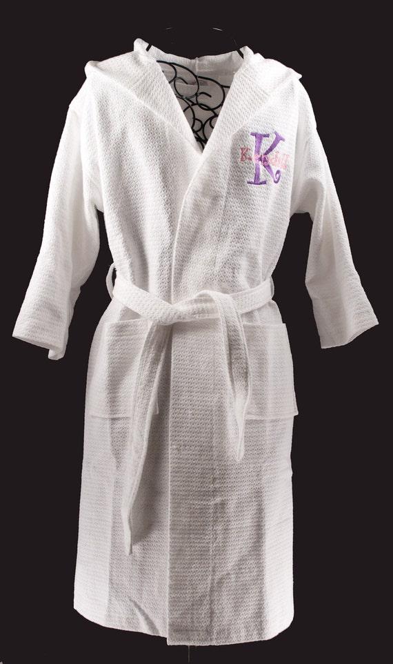 Personalized Kids Robes Kids Bathrobe Flower Girl Robe