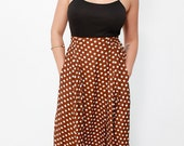 Hanna Vintage Polks Dot Skirt